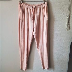 NWOT Free People Movement Rose Joggers